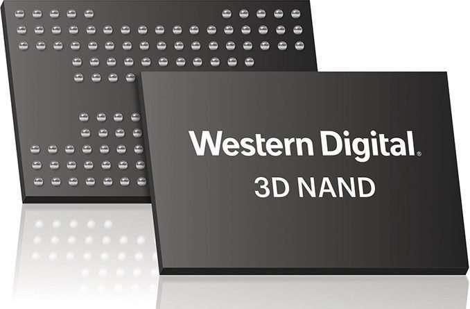 WD 96 Layer 3D BiCS4 QLC NAND SSD