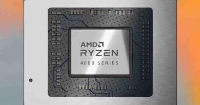AMD Ryzen 4000 Series Mobile Laptop CPU Processor