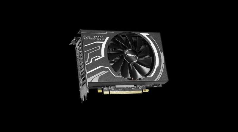 ASRock Radeon RX 5500 XT Challenger ITX 8G 8GB GDDR6 GPU