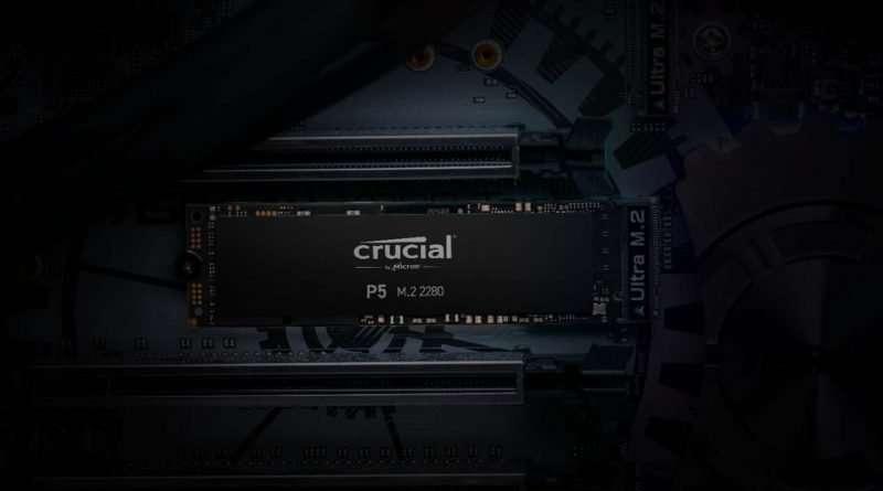 Crucial P5 & P2 NVMe PCIe Gen3 x4 M.2 2280 SSD