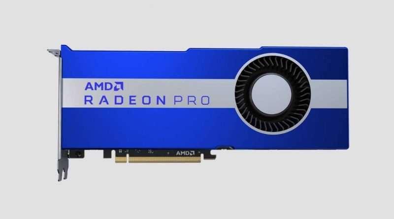 AMD Radeon Pro VII 16GB HBM2 PCIe 4.0 x16 GPU