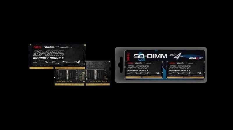 GeIL DDR4 3200MHz SO-DIMM 64GB (32GB x 2) RAM Kit