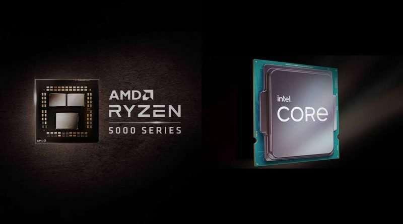 Intel 11th Gen Core i7 Rocket Lake vs AMD Ryzen 7 5000 Series Vermeer Desktop Processors comparison